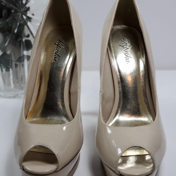 Jimmy Choo Shoes   Jimmy Choo Patent Leather Peep Toe
